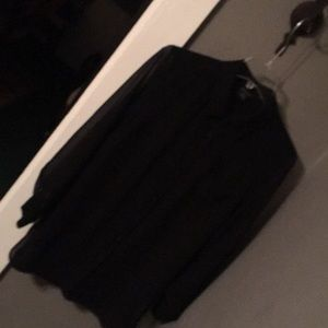 Beautiful Black Sheer Blouse